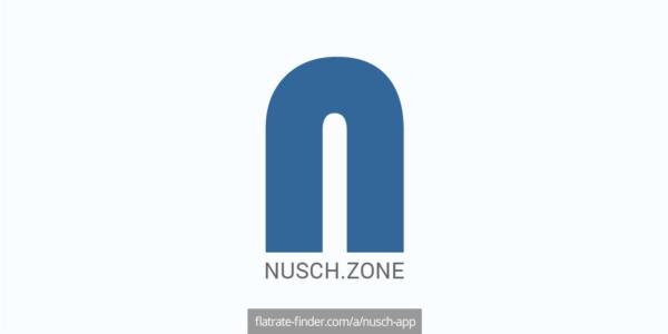 Nusch App @flatratefinder